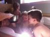 Bath time with Aidan- March 2012