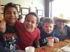 Trey and the Hogan boys in NC!