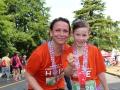 Sadie & Marlee post-run