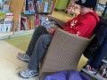 Trey reading at Indigo!