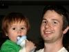 My cousin Bjorn & his son, Reiko